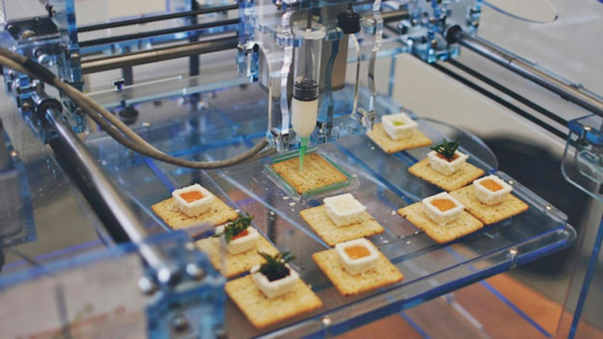 IMPRIMANTES 3D & NOURRITURE DU FUTUR