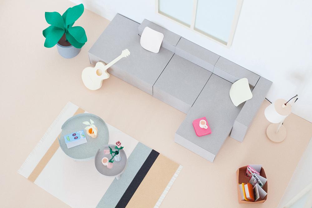 diy de la maison scandinave en papier heju peeksee magazine d 39 inspirations positives. Black Bedroom Furniture Sets. Home Design Ideas