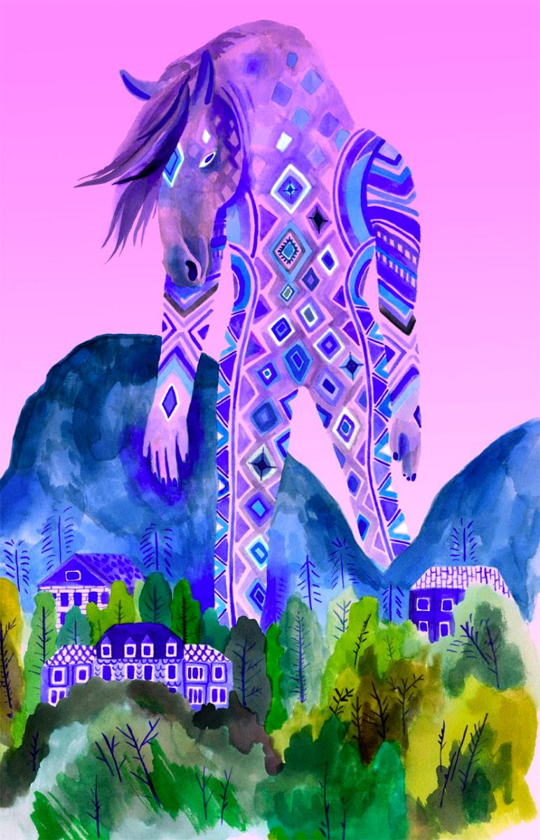 Lisa Hanawalt - Colossus Horse