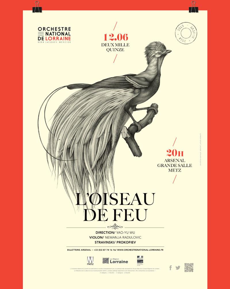 Violaine & Jérémy - Illustration pour L'orchestre National de Lorraine